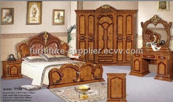 Bedroom Furniture 358 Bed Roomfurniture China MDF Furniture Venus