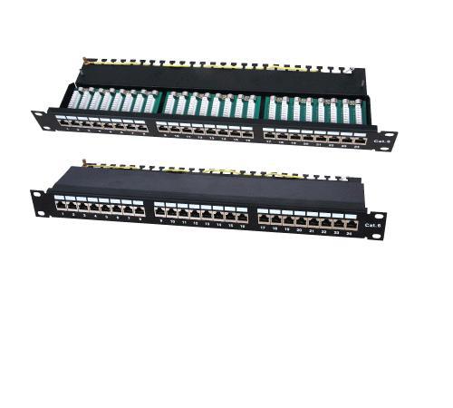 Патч-панель. . 24 портов FTP CAT 5E. . Все предложения рубрики Кабели и..