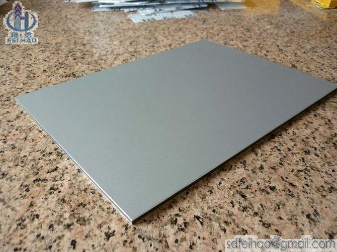 Aluminium Panel Gray : White silver gray aluminum composite panel acp