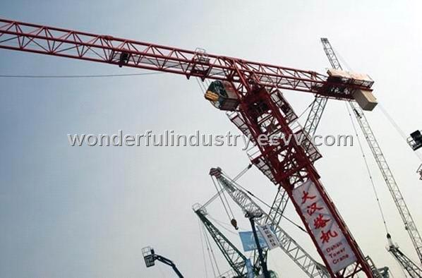 Tower crane qtz 125 : Flat top tower crane qtz purchasing souring agent
