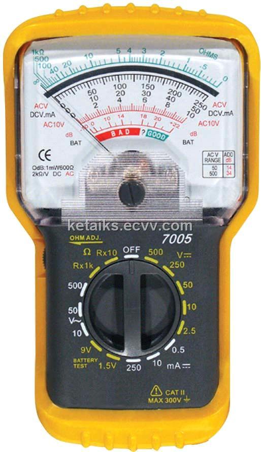 multimeter (kt7005); 万用表-供应指针万用表