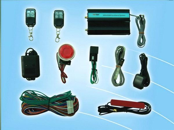 GSM Car Alarm & GPS Vehicle Tracking System - China tracker;GPS ...