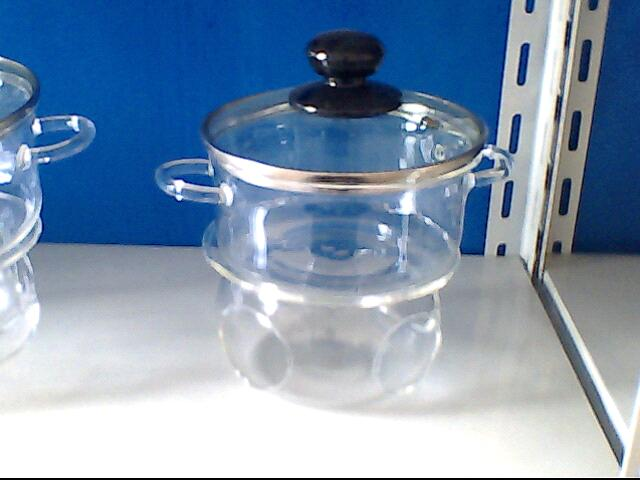 Glass Cooking Pots