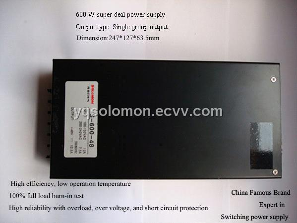 Super Deal Power Supply (S-600) S-600