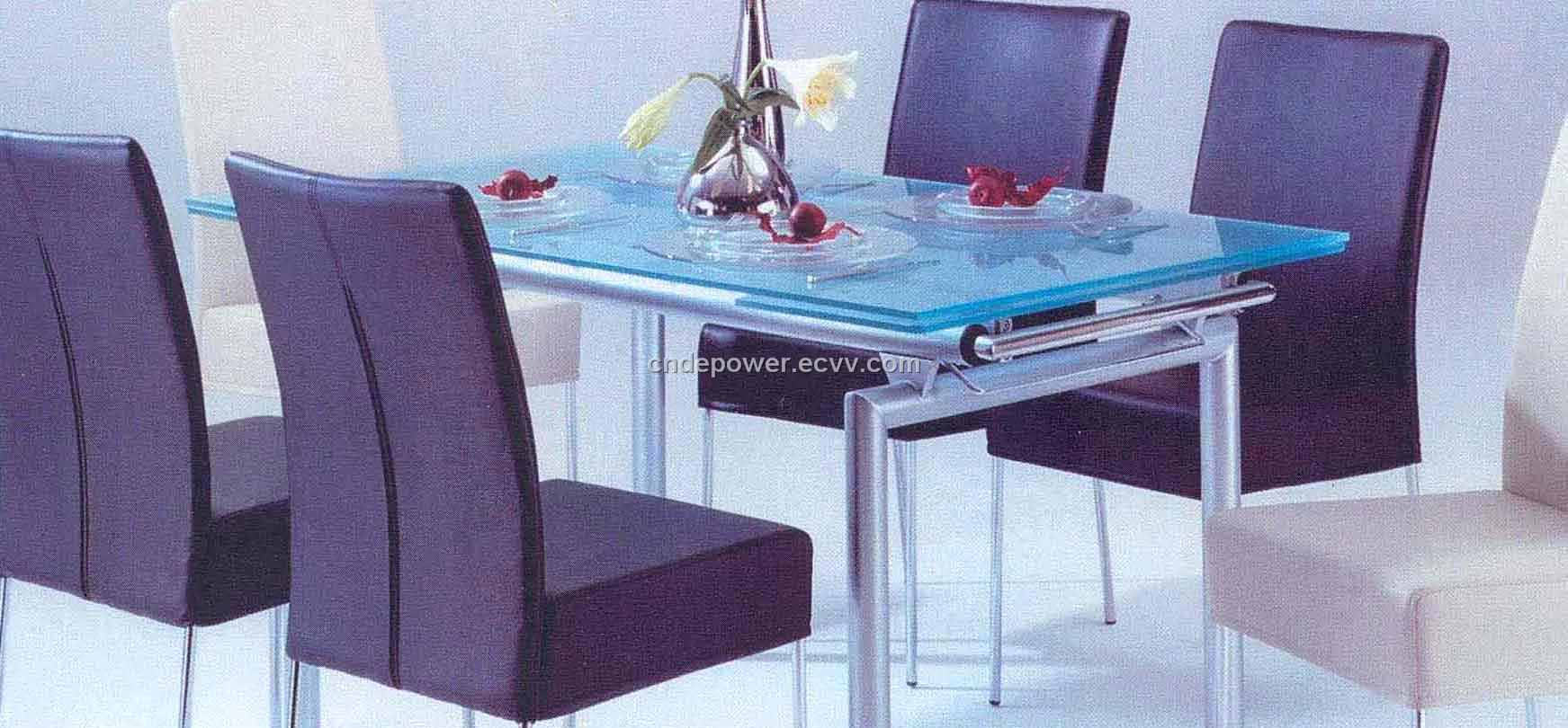 Dining Table Set China Glass Furniture