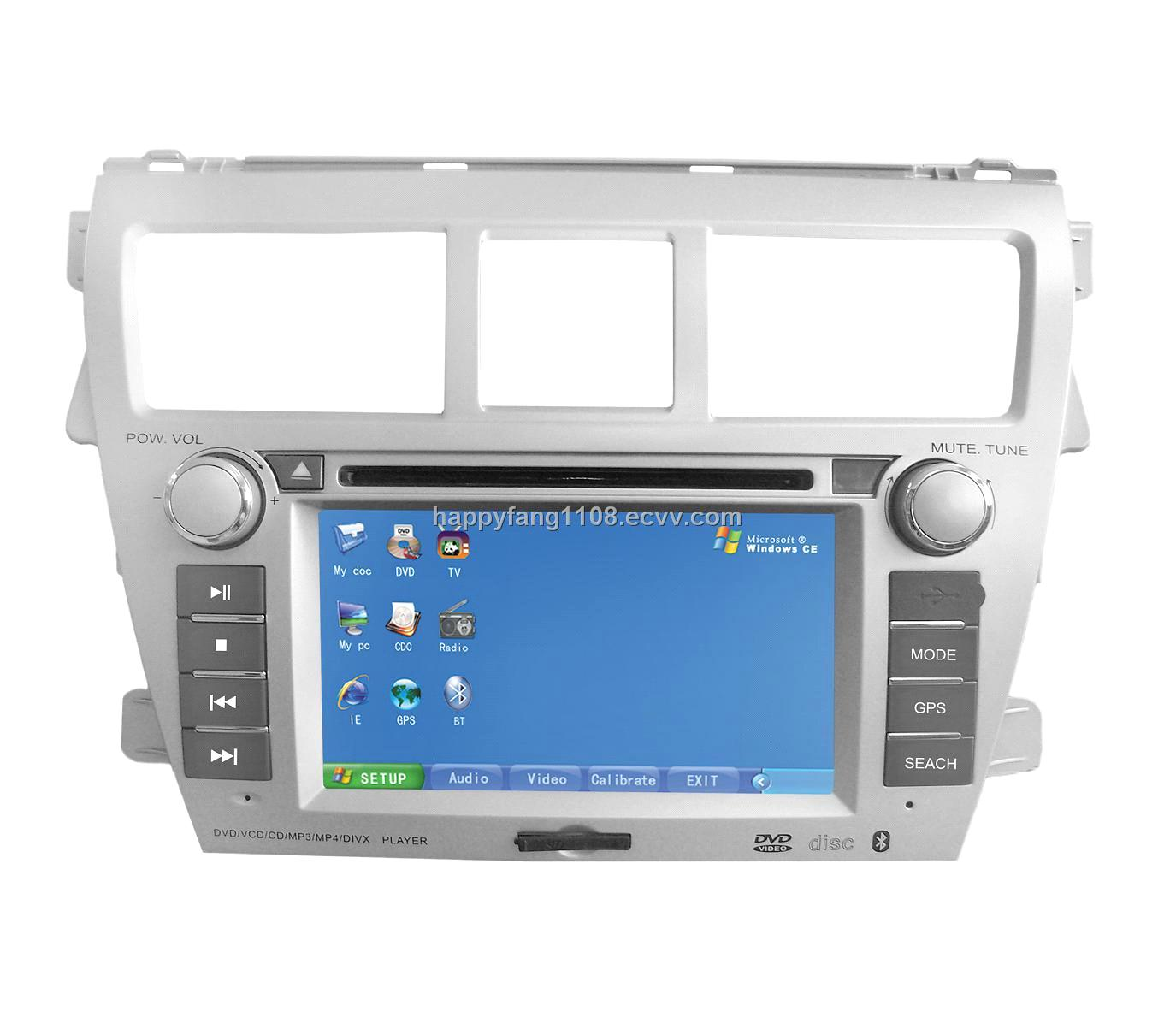 Dash Touch Screen Car Pc for Toyota New Vios (PC188)