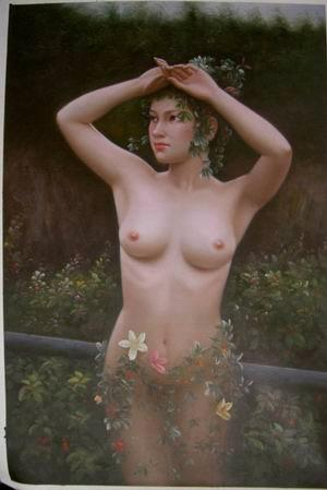Oil Painting - Nude