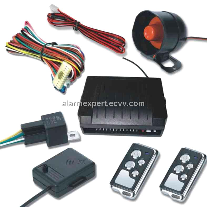 Car Alarm System With Central Lock Built In Purchasing