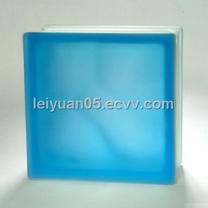 Color glass block purchasing souring agent for Hollow glass blocks for crafts