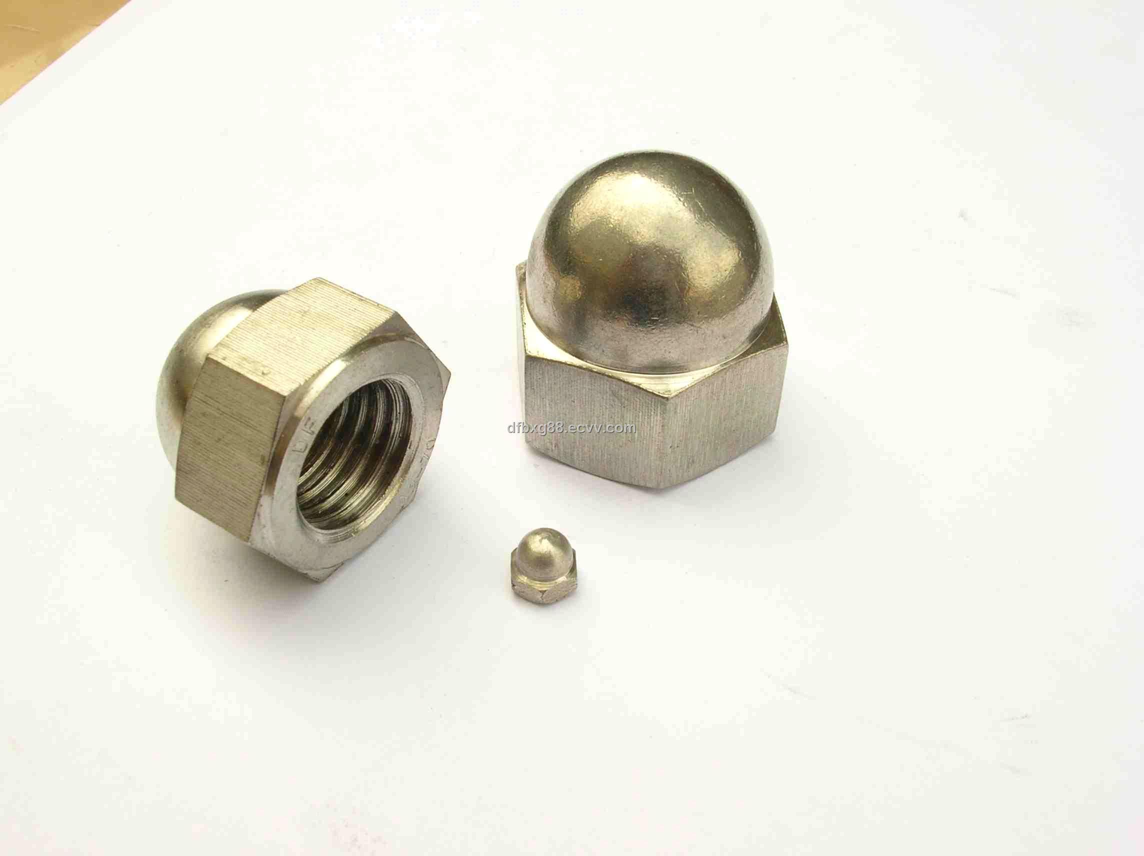Hexagon Domed Cap Nut (DIN1587) (DIN1587) - China DIN1587, DF