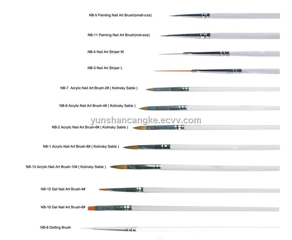 Nail Art Brush for Art Nail purchasing, souring agent ...