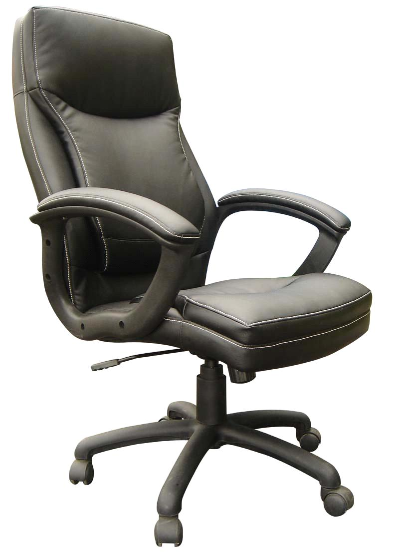 black office chair 6195H