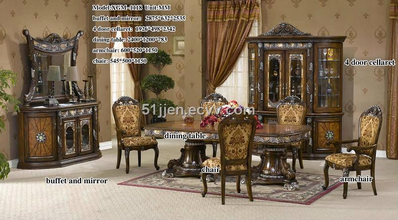 DINING ROOM CHAIRS IN