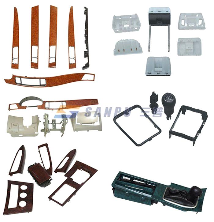 Automotive parts plastic automotive parts for Auto decoration parts