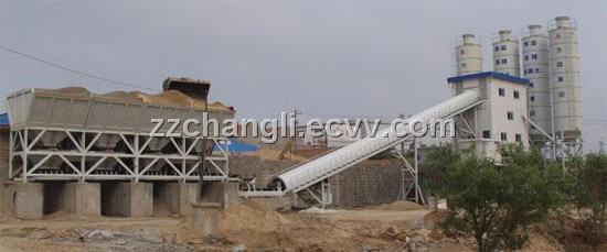 Concrete Plant Loader : Hzs concrete mixing plant purchasing souring agent