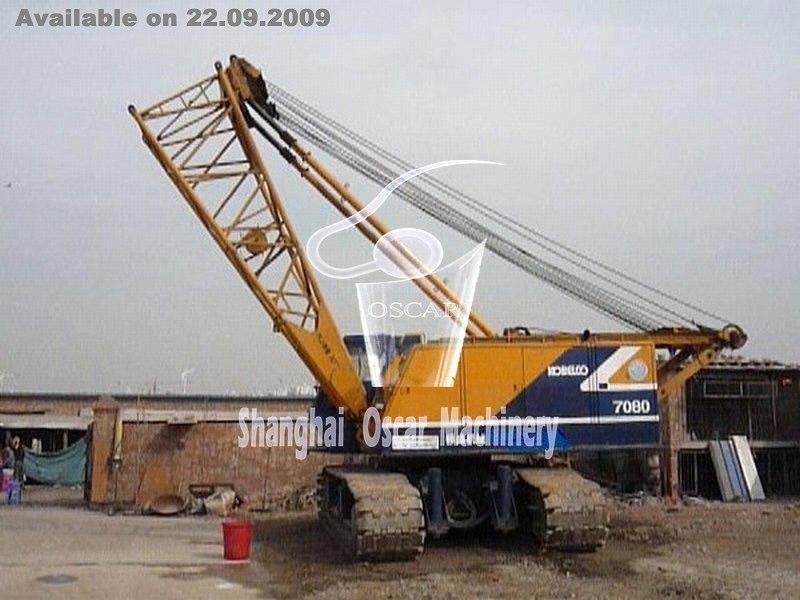 KOBELCO 7080 80T Crawler Crane