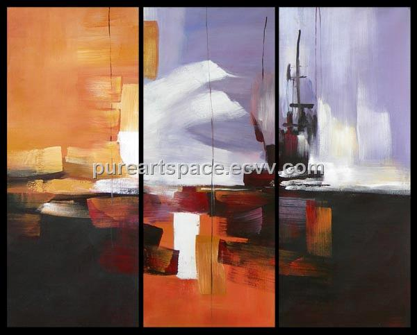 Group Oil Painting For Home Decoration