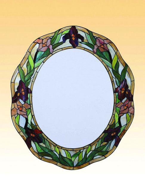 Tiffany mirror pendant decoration artwork purchasing for A t design decoration co ltd