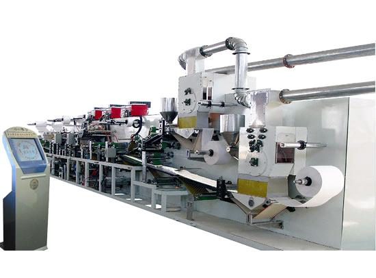 diapers manufacturing machine