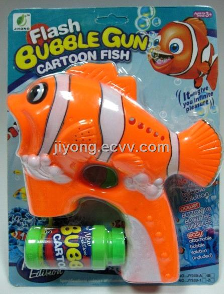 Flashing & Musical Bubble Gun JY989-2