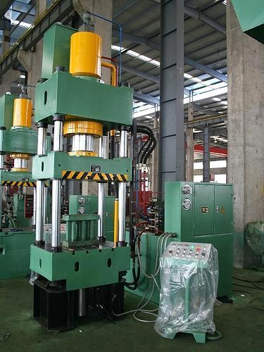 Accurl Hydraulic Press 4 Post 500 Ton Capacity Press
