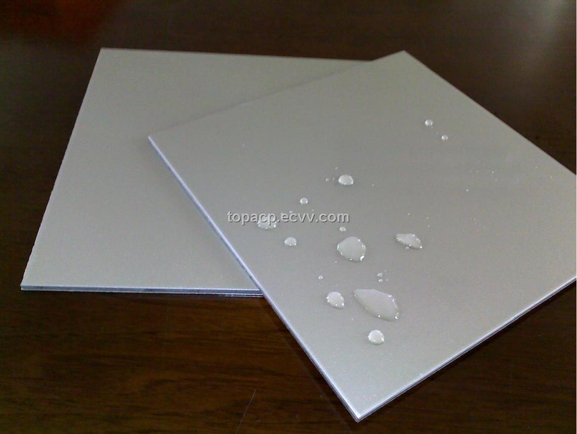 Brushed Aluminum Composite Panel : Brushed aluminum composite panel acp with pvdf pe coating