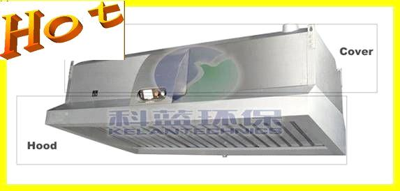 Range hood with grease filter for commercial kitchens for Commercial kitchen grease filters
