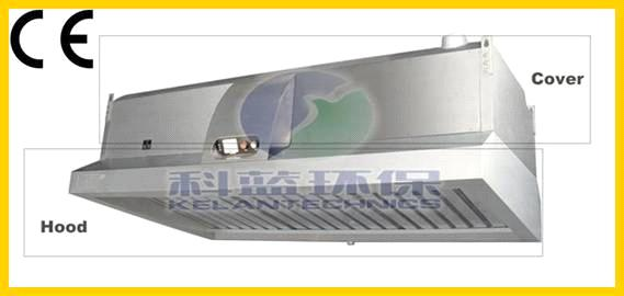 Range Hood With Grease Filter For Commercial Kitchens