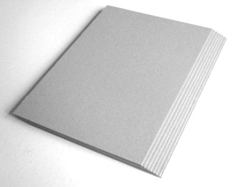 Laminated grey chip board purchasing souring agent ecvv