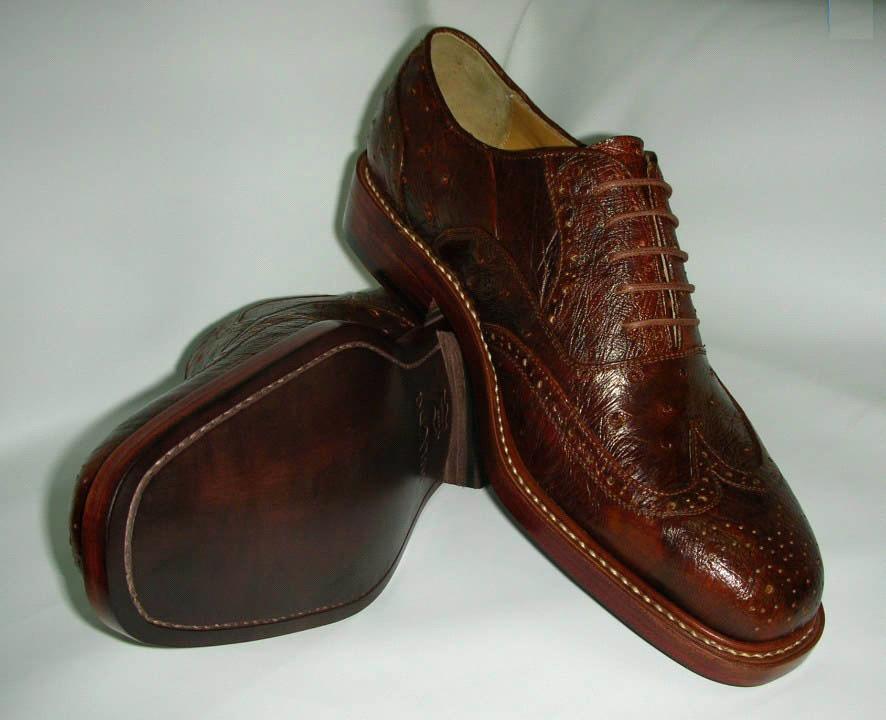 Bespoke Goodyear Welted Shoes - China bespoke shoes, Hurricane Dragon