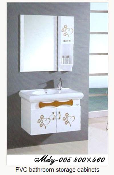 Pvc bathroom storage cabinets purchasing souring agent for Bathroom 94 percent