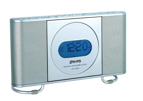 electronic alarm clock cd player radio. Black Bedroom Furniture Sets. Home Design Ideas