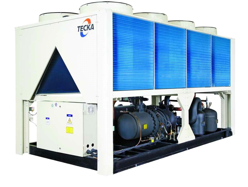 Air Cooled Screw Chillers China Chiller TECKA #0C7DBF