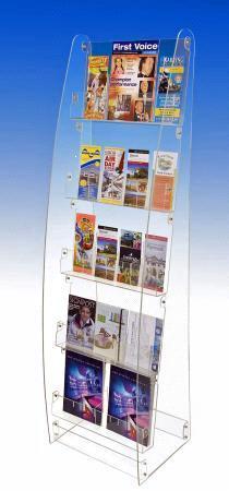 Magazine+rack+stand