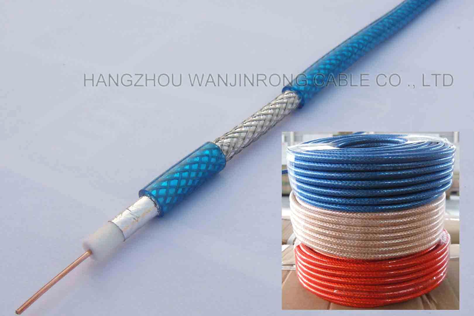Rg6 cctv cable cable for satellite receiver antenna - Cable antena satelite ...