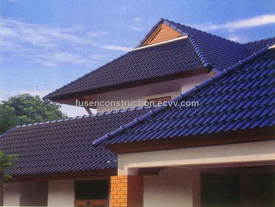 Synthetic resin roof tile purchasing souring agent ecvv for Synthetic roofing materials