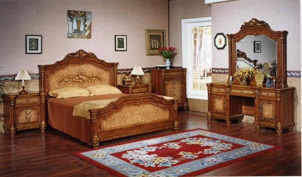 Classical Furniture Bedroom Sets S6008 China Bedroom