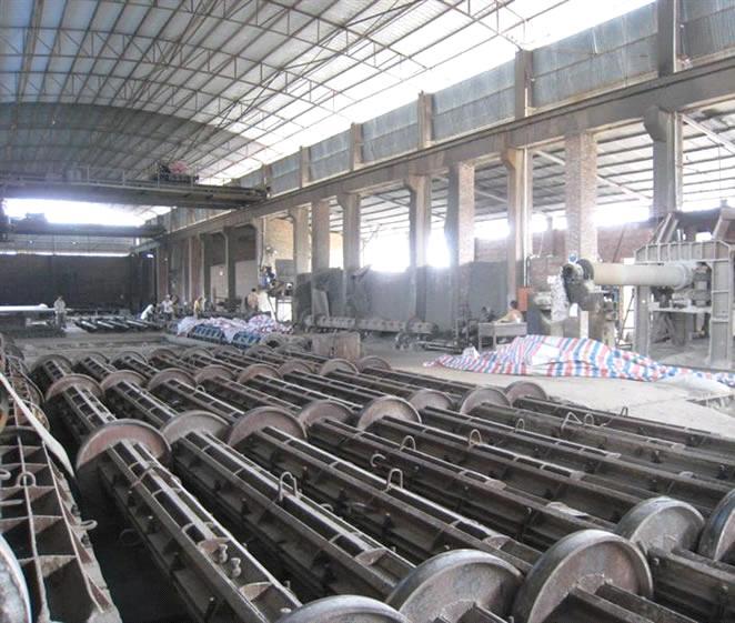 Precast Concrete Pole : Pre stressed concrete spun pole machinery purchasing