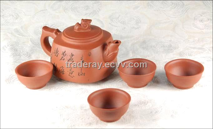 Chinese Clay Tea Set