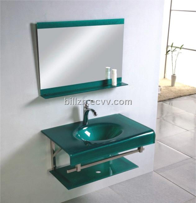 Glass Basin Bathroom Cabinet (DS-1005G) - China vanity