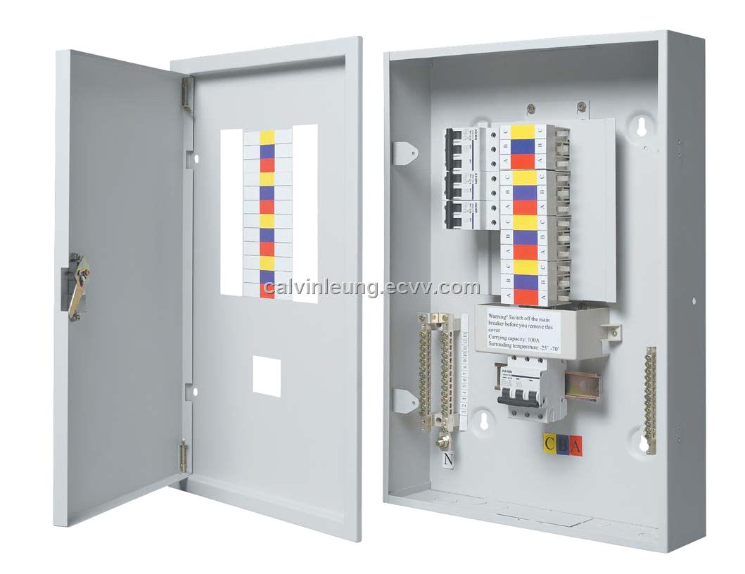 power circuit breaker box wiring diagram