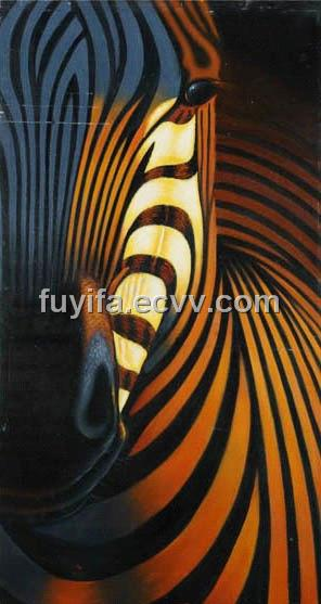Zebra painting,oil painting,modern art