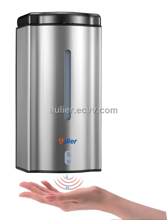 Touchless stainless steel automatic soap dispenser for Distributeur savon mural automatique