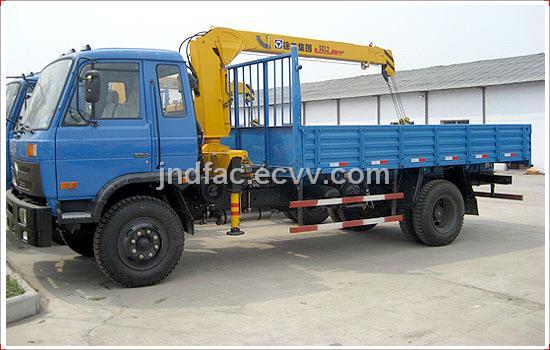 Dongfeng 153 Truck Cargo Crane