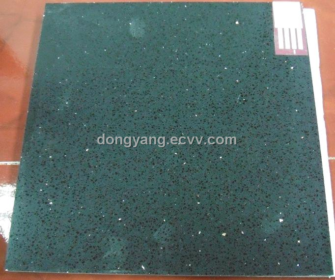 Green Quartz Floor Tile China Green Quartz Countertop DongYang