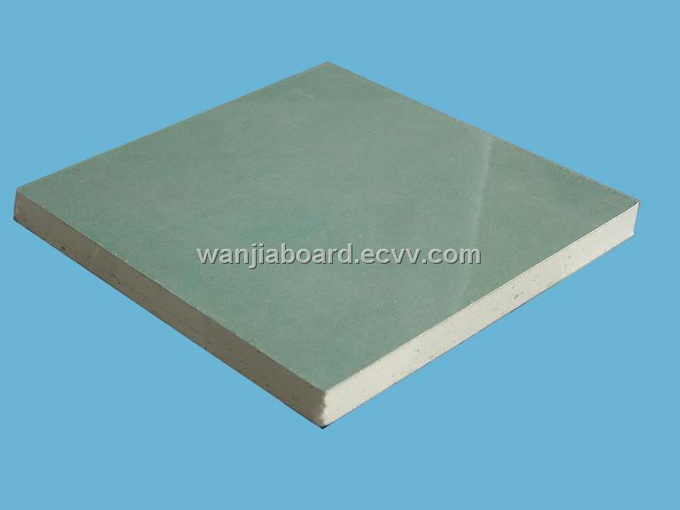 Moisture resistant gypsum board purchasing souring agent