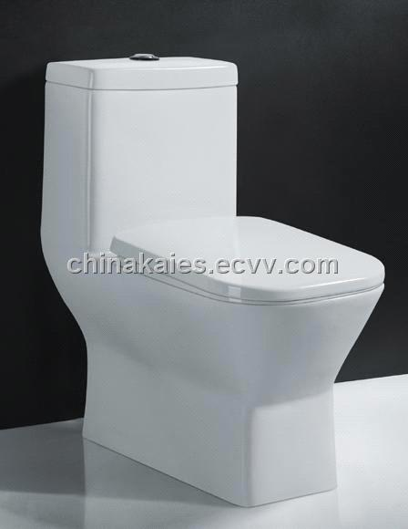 China Sanitary Ware Suppliers Siphonic One Piece Toilet A