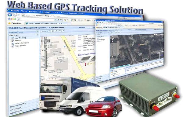 Web Based GPS tracking software Fleet Management Software ...