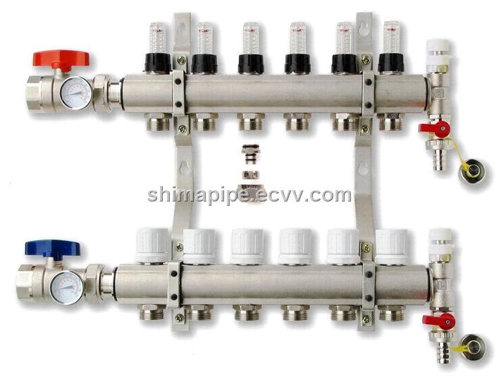 Pex manifold purchasing souring agent for Come collegare pex pipe al rame
