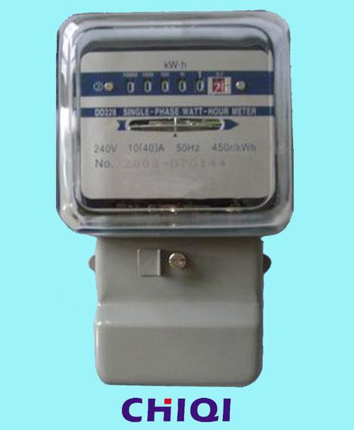 Single Phase Watt Hour Energy Meter Kwh Meter Purchasing